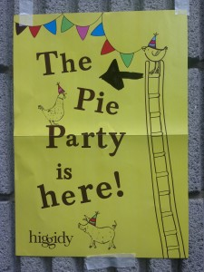 pie party poster