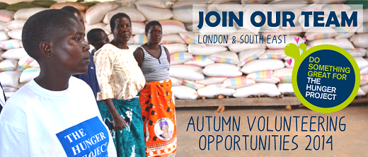 Volunteering-Opportunities-The-Hunger-Project-UK-Autumn-2014