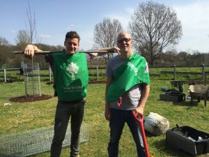 Tom Cavanagh Volunteering